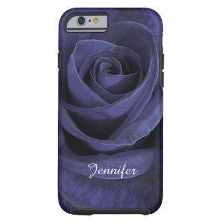 Beautiful Warm Blue Rose 1 Tough iPhone 6 Case