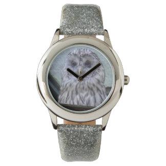 Beautiful Watching Owl Wristwatch