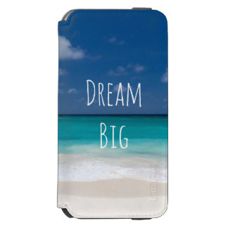 Beautiful Water Beach Personalized Image and Text Incipio Watson™ iPhone 6 Wallet Case
