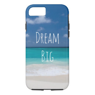 Beautiful Water Beach Personalized Image and Text iPhone 8/7 Case