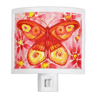 Beautiful Watercolour Butterfly Night Light
