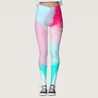 ♛ Beautiful Watercolour Leggings