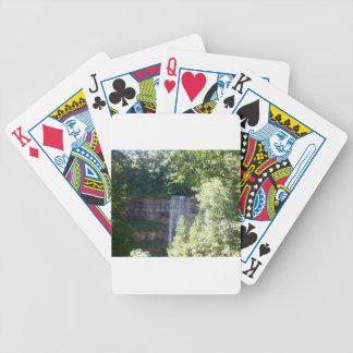 Beautiful Waterfall Bicycle Playing Cards