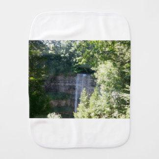 Beautiful Waterfall Burp Cloth