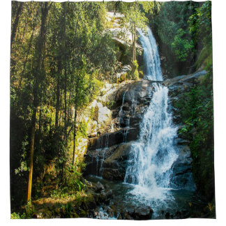 Beautiful Waterfall Image, Country