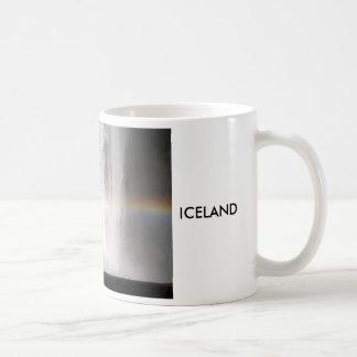 Beautiful waterfall in Iceland Coffee Mug