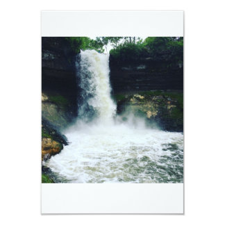 Beautiful waterfall in Minnepolis Card