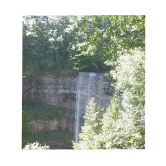 Beautiful Waterfall Notepad