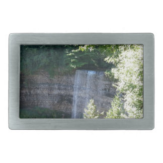 Beautiful Waterfall Rectangular Belt Buckle