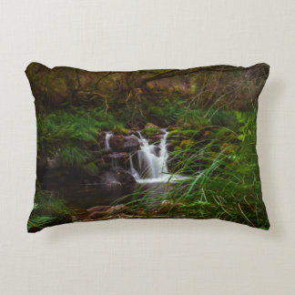 Beautiful Waterfalls Nature Scene Accent Pillow
