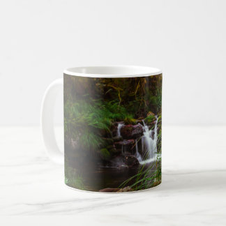 Beautiful Waterfalls Nature Scene Coffee Mug