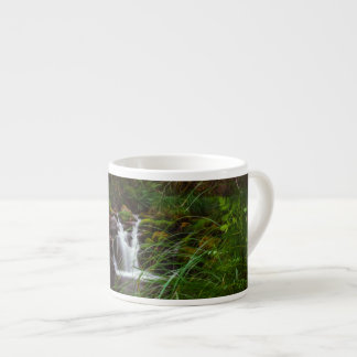 Beautiful Waterfalls Nature Scene Espresso Mug