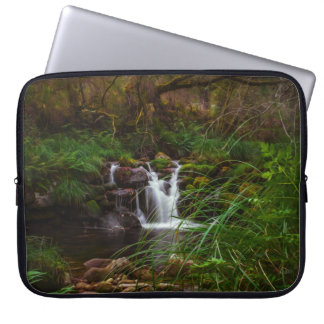 Beautiful Waterfalls Nature Scene Laptop Sleeve