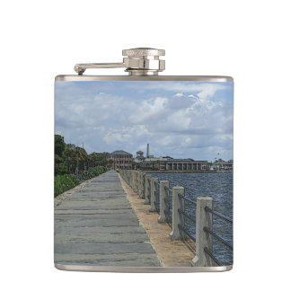 Beautiful Waterfront Walkway Flasks