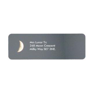 Beautiful Waxing Crescent Moon at Dusk Custom