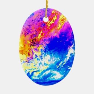 Beautiful weather ceramic ornament