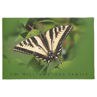 Beautiful Western Tiger Swallowtail Butterfly Doormat
