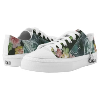 Beautiful whales Low-Top sneakers