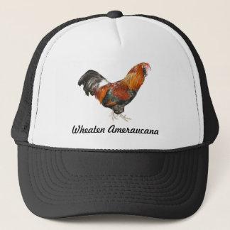 Beautiful Wheaten Ameraucana Chickens Trucker Hat