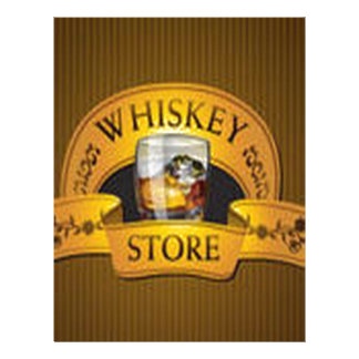 Beautiful WhiskyStore design Personalized Letterhead