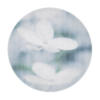 Beautiful white blossoms boards