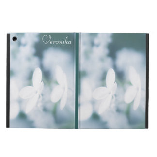 Beautiful white blossoms iPad air cover