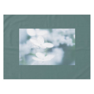 Beautiful white blossoms tablecloth