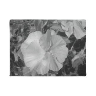 Beautiful White Flower Doormat