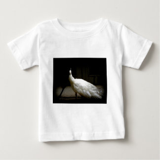 Beautiful White Peacock Baby T-Shirt