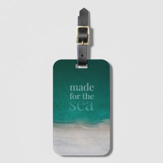 Beautiful White Sandy Beach Luggage Tag