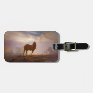 Beautiful Wild Mustang Horse Luggage Tag