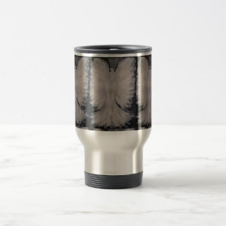 Beautiful Winged Guardian Angel Painting Art 15 Oz Stainless Steel Travel Mug