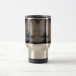 Beautiful Winged Guardian Angel Painting Art Stainless Steel Travel Mug