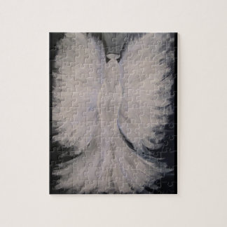 Beautiful Winged Guardian Angel Painting Art Puzzle