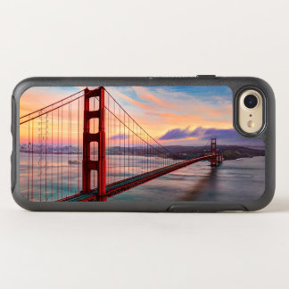 Beautiful winter sunset at Golden Gate Bridge OtterBox Symmetry iPhone 7 Case
