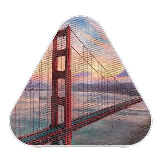 Beautiful winter sunset at Golden Gate Bridge Speaker