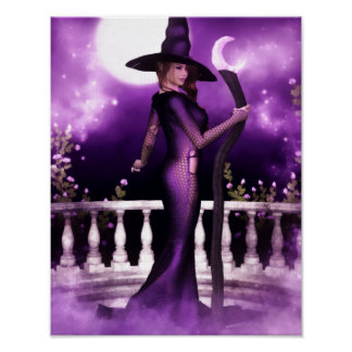 Beautiful Witchery Canvas/Poster Print
