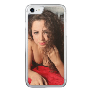 Beautiful Woman Carved iPhone 7 Case