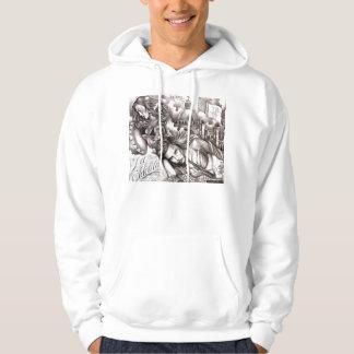beautiful women hooded sweatshirts