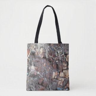 Beautiful Wood Tote Bag