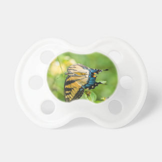 Beautiful Yellow Butterfly Baby Pacifier