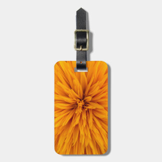Beautiful Yellow Dahlia Flower Blossom Luggage Tag