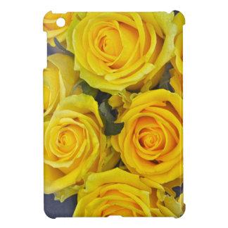Beautiful yellow roses cover for the iPad mini