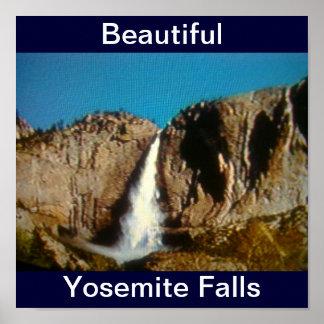Beautiful Yosemite Falls  Print