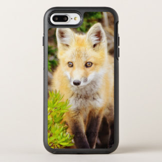 Beautiful Young Fox Kit On The Prowl OtterBox Symmetry iPhone 7 Plus Case