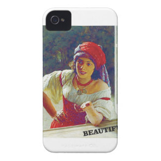 beautiful young woman iPhone 4 cover