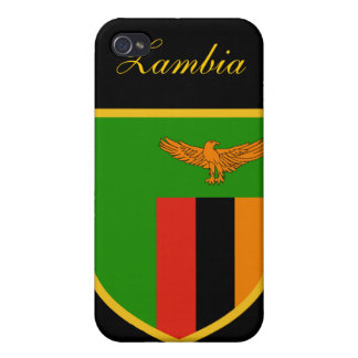 Beautiful Zambia Flag iPhone 4 Cover