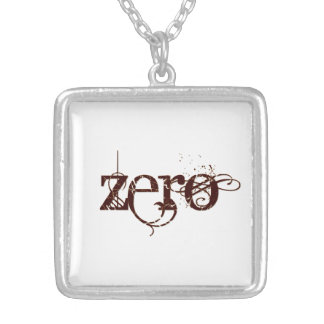 Beautiful Zero Silver Plated Necklace