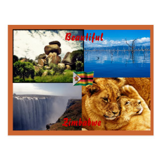 Beautiful Zimbabwe Postcard