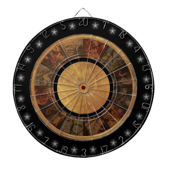 Beautiful Zodiac Wheel Dart Boards